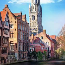The Belfry of Bruges Belgium  by Carol Japp