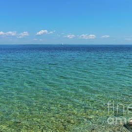 The Blue Lake Huron by Jennifer White