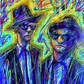 The Blues Brothers  by David Weinholtz