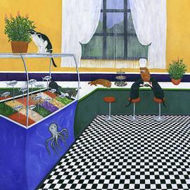 The Cat Cafe by Karen Zuk Rosenblatt