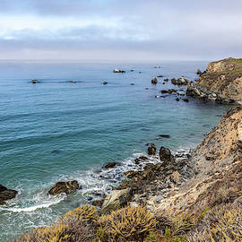 The Coastline of Big Sur by TL Wilson Photography by Teresa Wilson