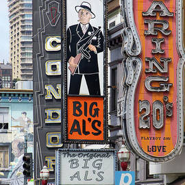 The Condor The Original Big Als And Roaring 20s Adult Strip Clubs On Broadway San Francisco R466 by Wingsdomain Art and Photography
