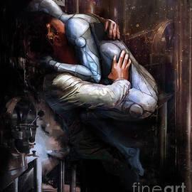 The Cyborg Embrace by Marissa Maheras