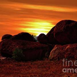 The Devils Marbles by Graham Buffinton