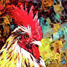 The Distinguished Rooster by Tina LeCour