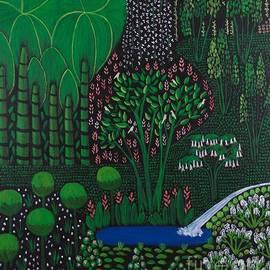 The Doves' Garden by Sharon Mroz Hopek