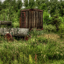 The end of the line  by Larry Fischer