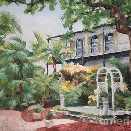 The Ernest Hemingway House and museum in Key West, USA by Helen Sviderskis