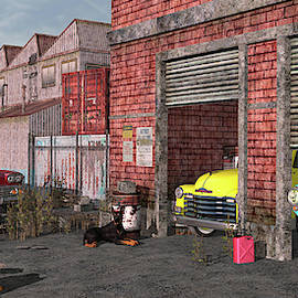 The Fifties Warehouse by Peter J Sucy