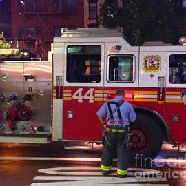 The Fighting Forty Four - F D N Y Fire Engine by Miriam Danar