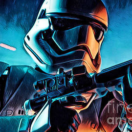 The First Order II by Pixel Chimp