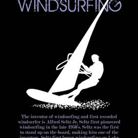 The first pioneer of windsurfing by Daniel Ghioldi