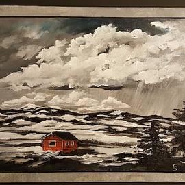 The Foot Hills            35 by Cheryl Nancy Ann Gordon