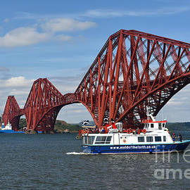 The Forth Bridge, Queensferry by Yvonne Johnstone