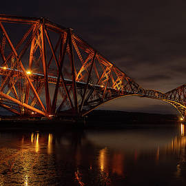 The Forth Bridge by Ross G Strachan