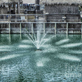 The Fountain At Renegades by Judy Hall-Folde
