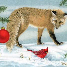 The Fox And The Cardinal by Sarah Batalka