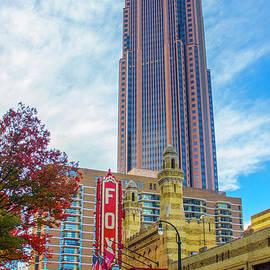 The Fox Theatre Atlanta Landmarks Cityscape Art by Reid Callaway