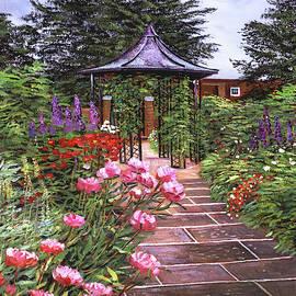The Garden Arbor by David Lloyd Glover