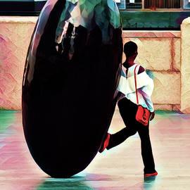 The Giant Black Ant Egg by Steve Taylor