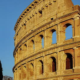 The Golden Hour at the Colosseum, Rome by Lyuba Filatova
