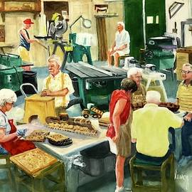 The Good Life in the Wood Shop by Nancy Raborn