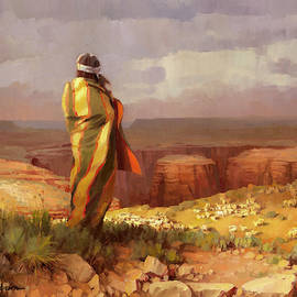 The Good Shepherd by Steve Henderson