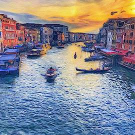 The Grand Canal by Kathi Isserman