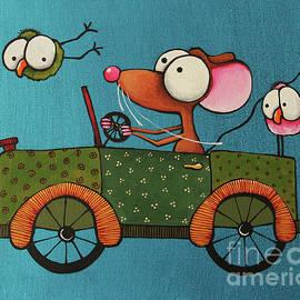 The Green Car by Lucia Stewart