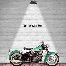 The Harley Duo-glide 1958 by Mark Rogan
