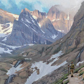 The Hiker by Larry DeGraff