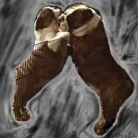 The Hug, Gus and Gert  by Adrienne Hantz Kelley
