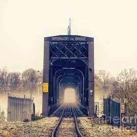 The Internation Railroad Bridge by Jim Lepard