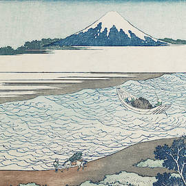 katsushika hokusai - The Jewel River in Musashi Province