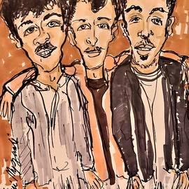 The Jonas Brothers by Geraldine Myszenski