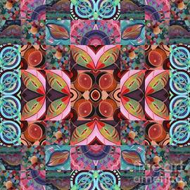 The Joy of Design Mandala Series Puzzle 7 Arrangement 7 by Helena Tiainen