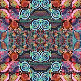 The Joy of Design Mandala Series Puzzle 7 Arrangement 8 by Helena Tiainen