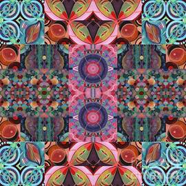 The Joy of Design Mandala Series Puzzle 7 Arrangement 9 by Helena Tiainen