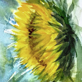Asha Sudhaker Shenoy - The last sunflower