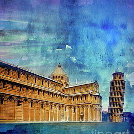 The Leaning Tower by Edmund Nagele