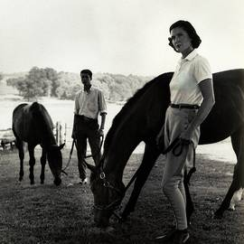 The Leyards, Riding by Toni Frissell