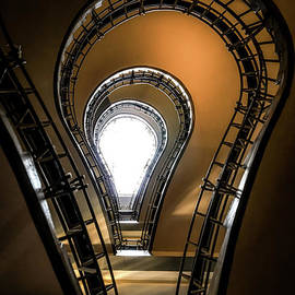 The lightbulb staircase by Aaron Choi