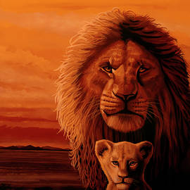The Lion King Painting