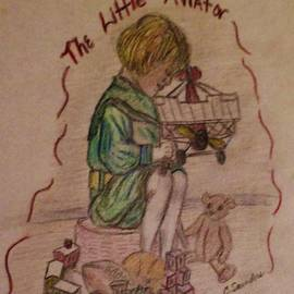The Little Aviator Illustration by Christy Saunders Church