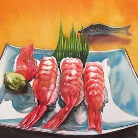 The Love Of Sushi by Alfred Ng