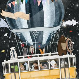the magical flying tram by Bri Buckley