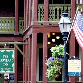 The Maryland Inn - Main Street by Arlane Crump