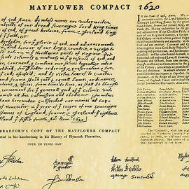 The Mayflower Compact  by Doc Braham
