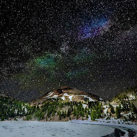 The Milky Way Rises over Lassen by Tricio Photography