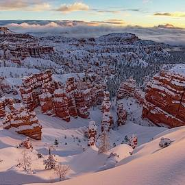 Bryce Sunrise After the Storm by J Allen